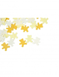 Confettis de table Ourson jaune pâle 10 grs