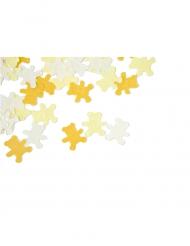 Confettis de table Ourson jaune pâle 10 grs
