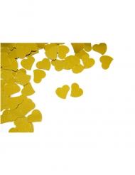 Confettis de table Cœur doré 10 g