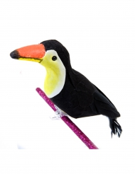 Pince décorative Toucan 15 x 7 cm