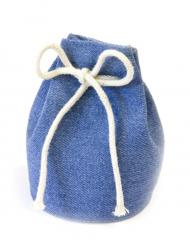 4 Sacs marin bleu 6,5 x 5 cm