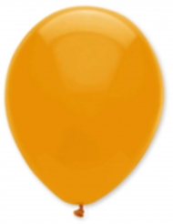 6 Ballons orange 30 cm