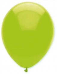 6 Ballons vert citron 30 cm