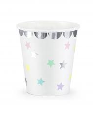 6 Gobelets Étoiles 180 ml