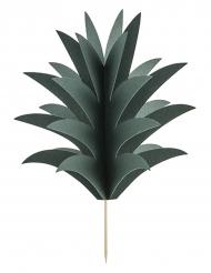 6 Décorations pour gâteau à faire soi-même Feuille d'Ananas