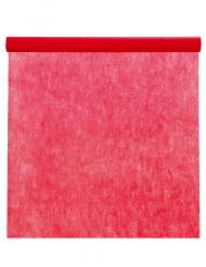 Nappe en rouleau unie intissé rouge 10 m x 120 cm