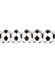 Banderole en papier Ballons de foot 3.25m