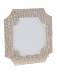 6 Marque-place en papier et coton en forme de Cadre 6 x 6 cm