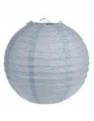 2 Lanternes à suspendre gris 20 cm