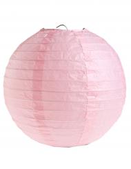 2 Lanternes à suspendre rose clair 20 cm