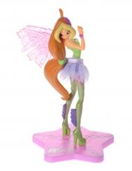 Figurine en plastique Winx Club™ Sirenix Flora 13 cm