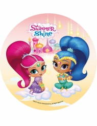Disque en azyme Shimmer and Shine ™ 21 cm
