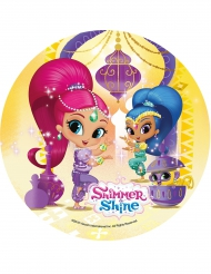 Disque jaune azyme Shimmer and Shine ™ 21 cm