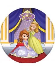 Disque azyme Princesse Sofia ™ Sofia et Ambre 21 cm
