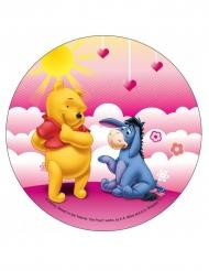 Disque en azyme Winnie l'Ourson ™ Winnie et Bourriquet 21 cm