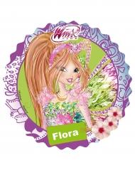 Disque en sucre Winx ™ Flora 21 cm