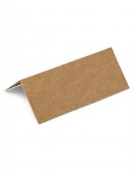 10 Marque-places en Kraft 9,5 x 4 cm