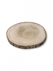 Rondin en bois naturel 10 à 12 cm