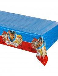 Nappe en plastique bleue et rouge Pat'Patrouille ™ 120 x 180 cm