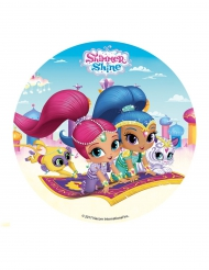 Disque en sucre Shimmer and Shine ™ 16 cm