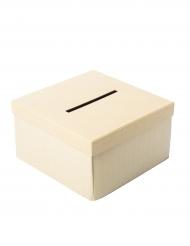 Urne carrée brut 25 cm