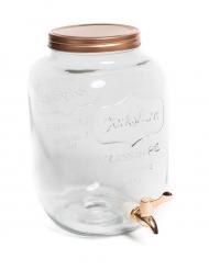 Limonadier rose gold 8 litres 24,2 x 31 cm
