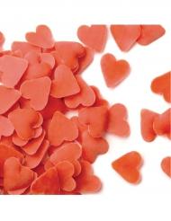 Mini cœurs rouges en sucre 500g
