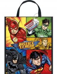 Sac cadeaux en plastique Justice League™ 33 x 28 cm