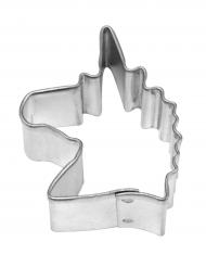 Emporte pièce en acier Licorne 4,4 cm