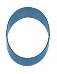 Emporte pièce chiffre 0 bleu 7.5 cm