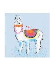 24 Petites serviettes en papier Lama Fiesta 25 x 25 cm