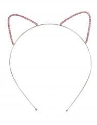 D coration festive carnaval accessoires animaux vegaoo party vente en ligne de d coration - Oreille de chat serre tete ...