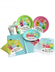 Kit de 25 pièces Happy Monsters
