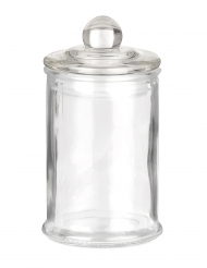 Petite bonbonnière confiseur en verre 12 x 6 cm