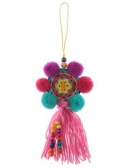 Suspension Mexicaine rond multicolore 31 cm