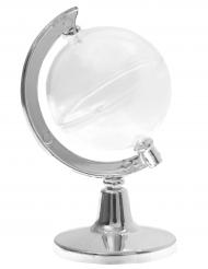 2 Petit contenants Globe Terrestre en plastique 11 cm