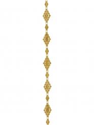 Ruban en plastique doré Versailles 2 m