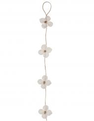Guirlande d'orchidée blanches 1,30 m