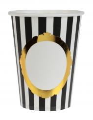 10 Gobelets en carton Versailles