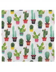 20 Serviettes en papier Mexique 33 x 33 cm