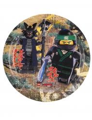 8 Assiettes en carton Lego Ninjago™ 23 cm