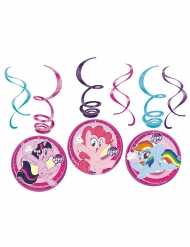6 Suspensions en spirales My Little Pony™