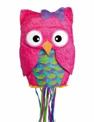 Piñata Chouette rose premium 36 x 50 cm