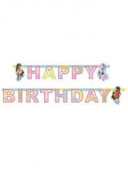 Bannière en papier Happy Birthday Charming Horses 177 x 15 cm