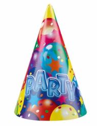 6 Chapeaux de fêtes Party