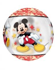 Ballon rond aluminium Mickey™ 38 x 40 cm