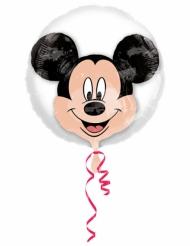 Ballon aluminium double bubble tête de Mickey™ 60 x 60 cm