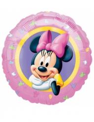 Ballon aluminium pastel Minnie™ 43 cm