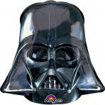 Petit ballon aluminium tête de Dark Vador™ 25 X 27 cm