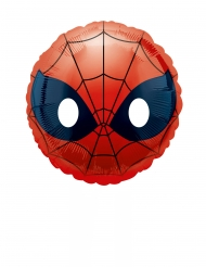 Petit ballon aluminium Spiderman Emoji™ 23 cm
